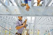 House construction still sluggish