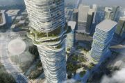 Bold plans for forest jutting out of skyscraper