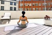 Al fresco yoga