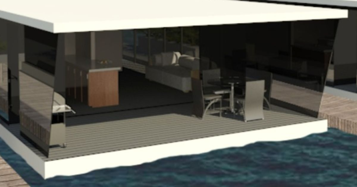Floating apartments launched on the Gold Coast