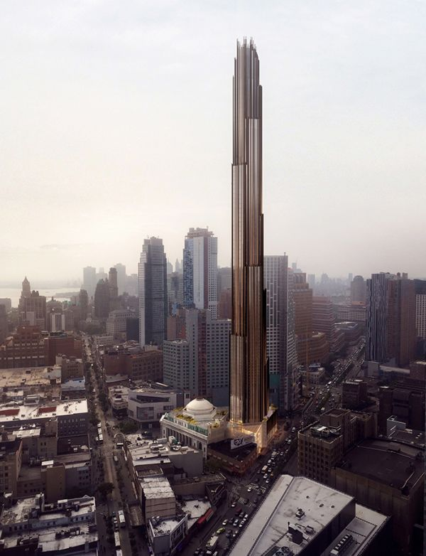 New skinny skyscrapers are changing city skylines around the world