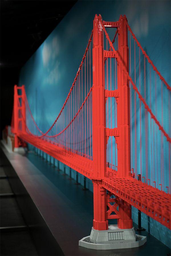 Lego artist reimagines worldly wonders of construction