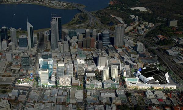 Strong offshore interest tipped for Perth landmark tower site