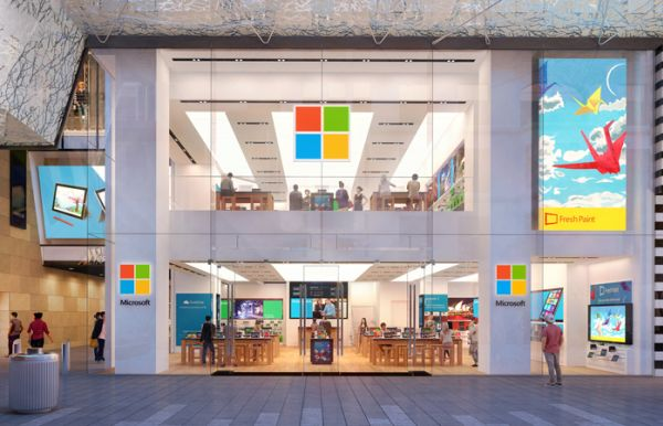 First look inside new Microsoft Sydney flagship store