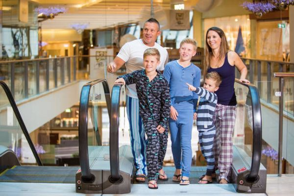 Sydney shopping centre sleepover on offer as one-of-a-kind holiday rental