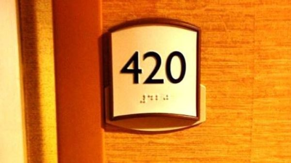 Why hotels avoid the room number 420