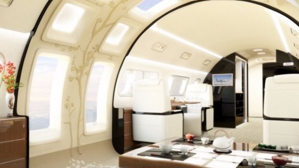 Embraer designs new aircraft with skylight for your mile-high office