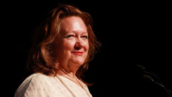 Gina Rinehart the sole Australian on Forbes list of world