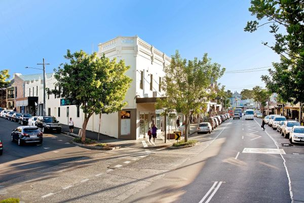 Five-in-a-row opportunity on busy Balmain retail strip
