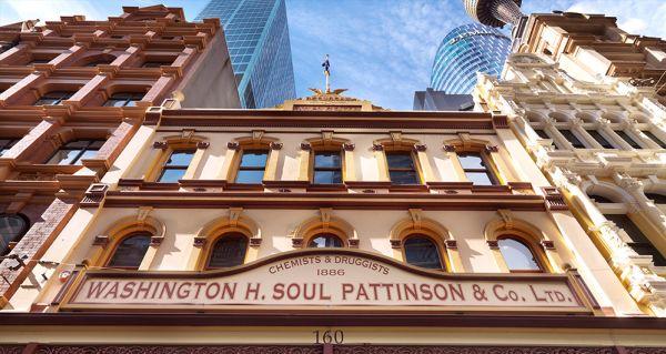 Soul Pattinson puts building in Pitt Street Mall on the market