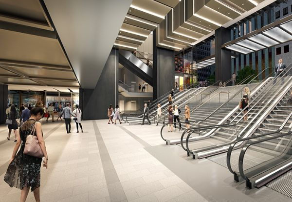 Wynyard Station project on track after NSW government accepts Brookfield proposal