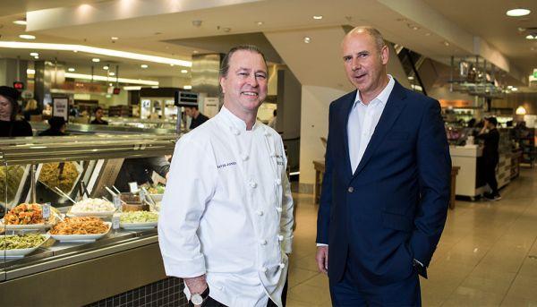 Chef Neil Perry to transform David Jones food halls into a