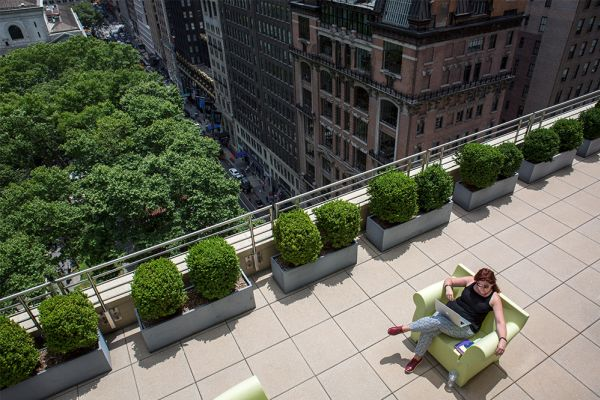 Office balconies find their place in the sun as US landlords get competitive