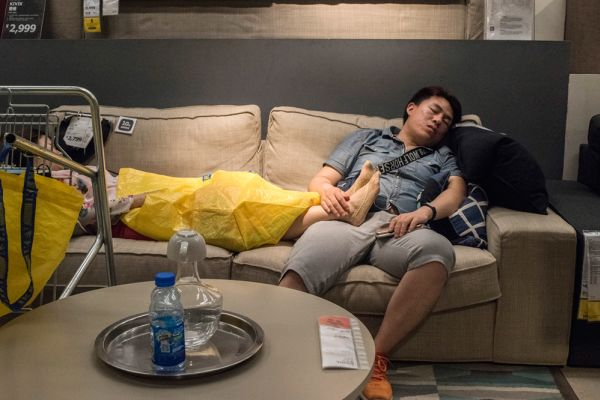 Ikea can be exhausting ... China has the solution