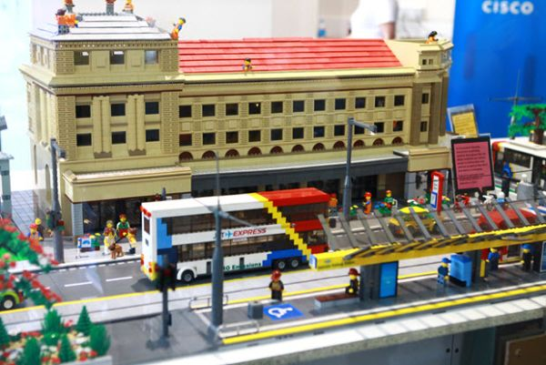 Adelaide urban planners use Lego to help build a hi-tech future