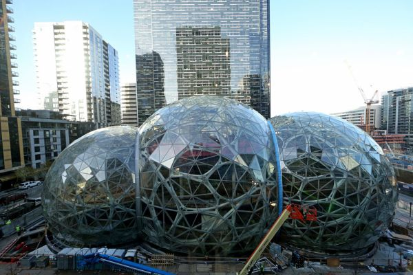 In Seattle Amazon S Breakneck Growth Is Also Fuelling Its Need