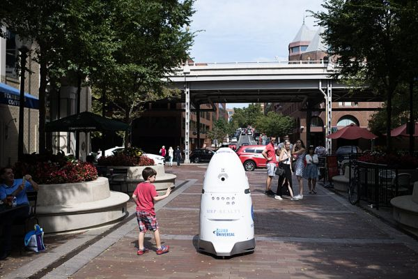 Attention, humans: I am Rosie, your new robot security guard