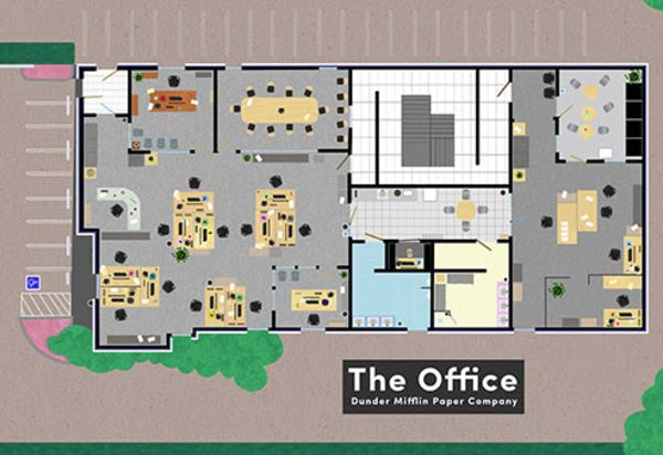 Ever Wanted To See A Floor Plan Of Your Favourite Tv Business