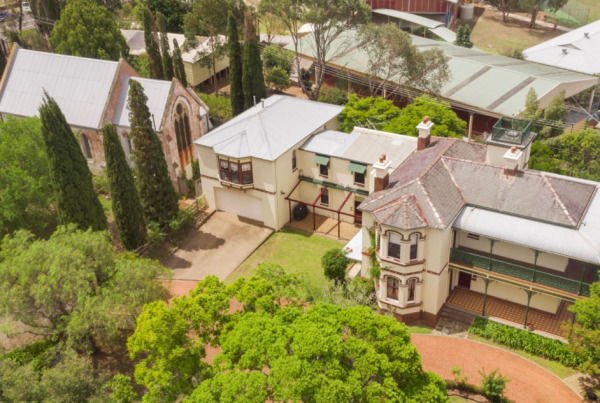 Rare western Sydney church and rectory on the market
