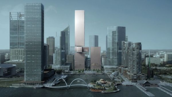 Doubling down: Brookfield two-tower plan for Perth