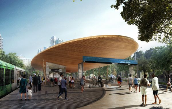 New Melbourne metro stations designed to reduce stress and improve well-being