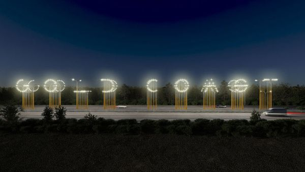 Gold Coast Gateway Sign Made From Street Lights Set To Be