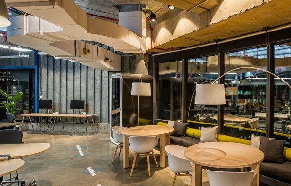 Entire Sydney office fitted out with recycled materials and furniture wins sustainability award