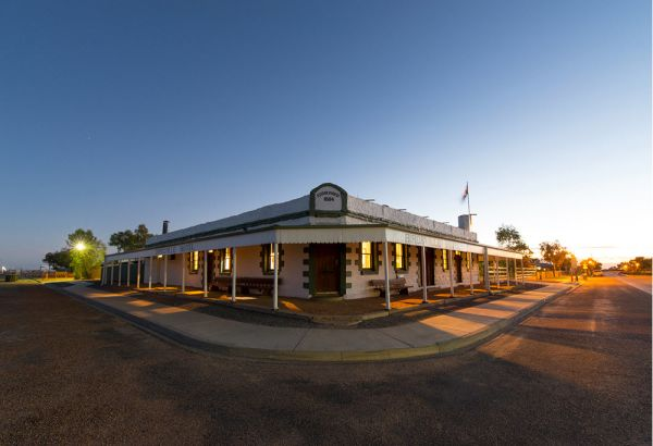 The Birdsville Hotel is on the market and Dick Smith is thinking of making an offer