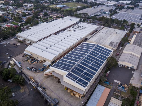 Five-fold growth in solar panels on commercial buildings