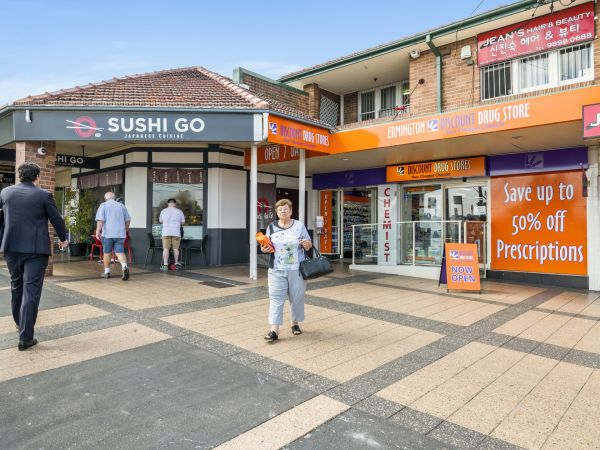 Tiny sushi shop in western Sydney nets more than $18,000 a square metre at auction