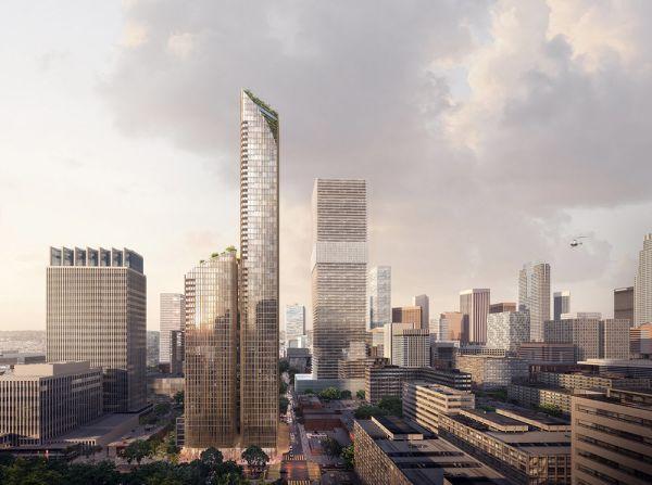 Australian-based architect Koichi Takada designs LA tower inspired by Californian Redwoods