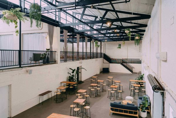 Old wool mill in Brunswick East has been turned into a chic wedding venue