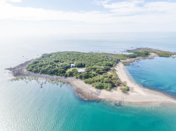 Victor Island in the Whitsundays is being sold with