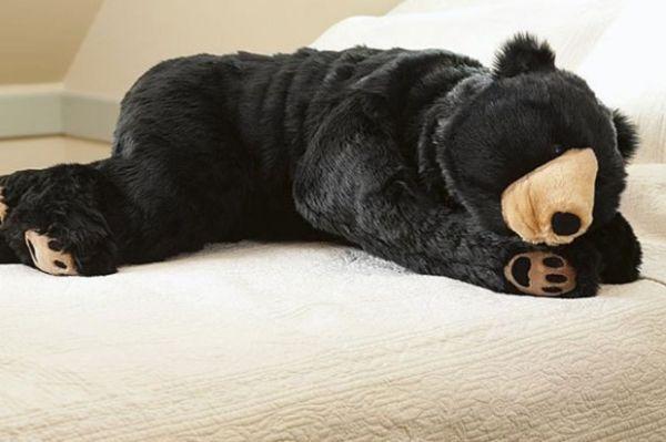 This sleeping bag looks like a real-life bear a80ab543e