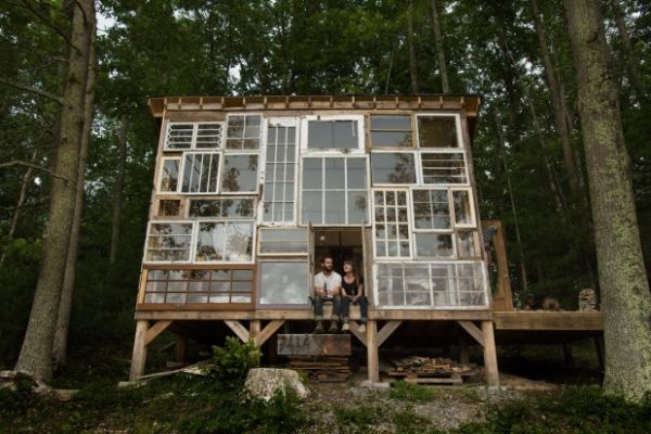sustainable living projects five homes made from recycled materials