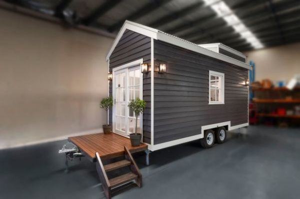 Tiny Houses To Go Under The Hammer In Melbourne For The First Time