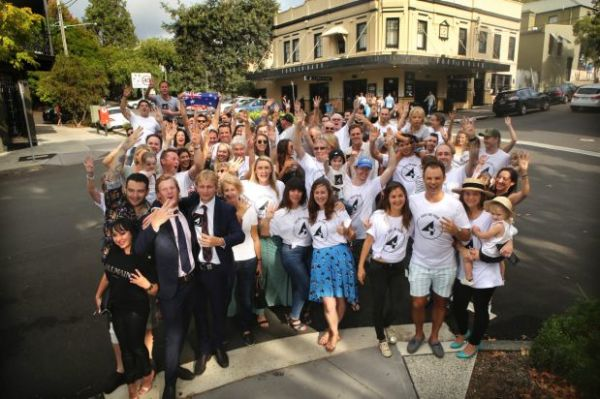Paddington Residents Protest Against Plans To Sell Four In Hand - A-lovely-grey-house-in-paddington-sydney