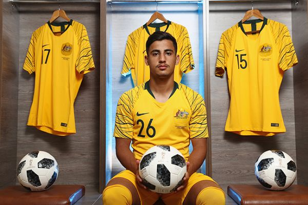 4e6557972 Daniel Arzani  The youngest Socceroo at the 2018 FIFA World Cup
