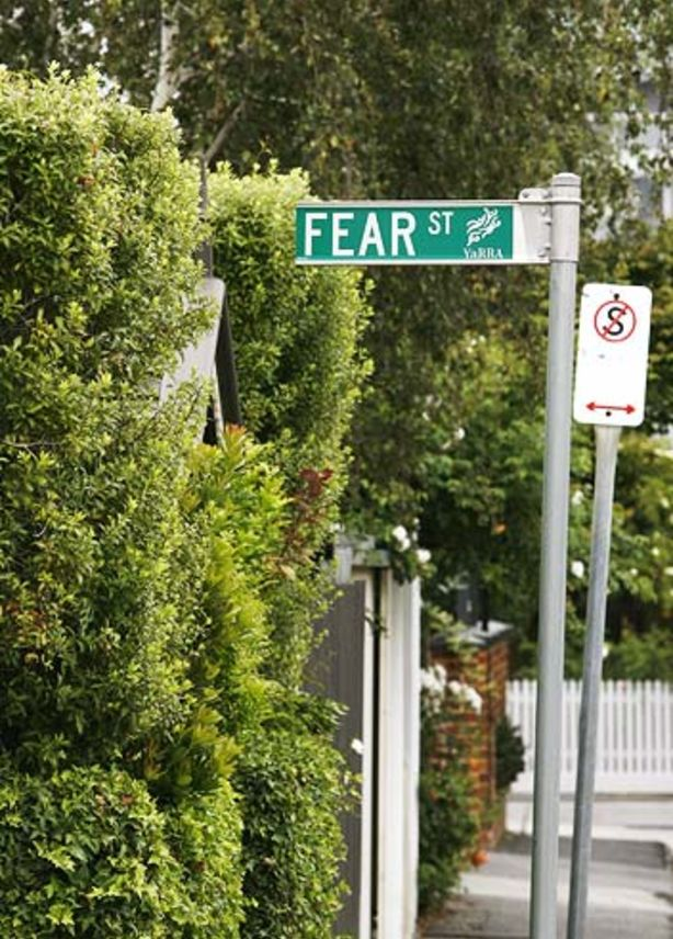 Fear Street in Richmond evokes an entirely different emotion.