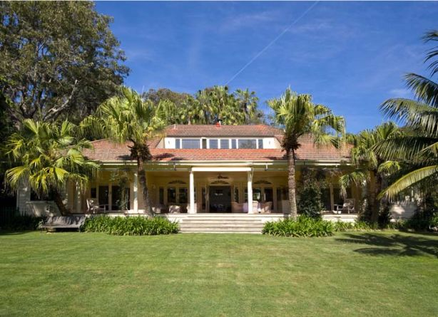 Record-breaker ... Kalua, which has five bedrooms, is a 5500-square-metre beachfront estate.