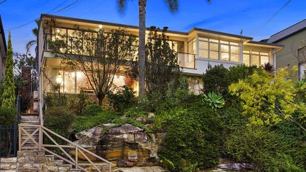 One step ahead: Mal Green's Castle Cove home.