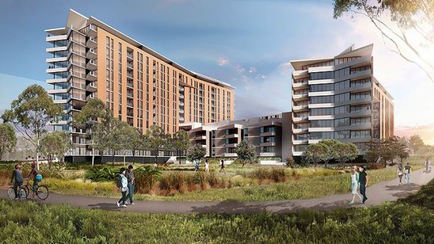 Artist's impression of Promenade development by Starryland Australia.