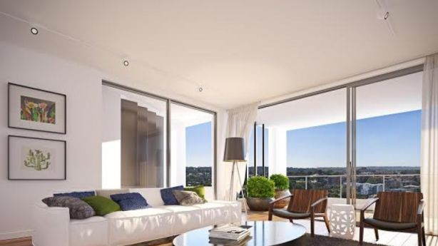 An artist's impression of one of the Carl apartments at Carlingford. Photo: supplied