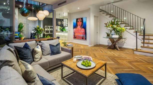 Darren and Dee's apartment sold for $1.38 million. Photo: Supplied