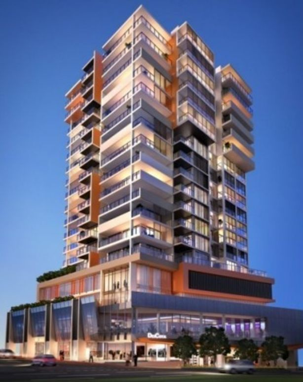 Artist impression of the now completed Deicota Apartments building. Photo: Great Fortune Investments