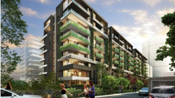 An artist's impression of Ebsworth at Green Square. Photo: domain.com.au