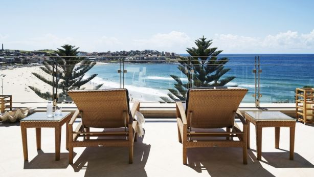 The view is what will sell James Packer's Bondi Beach property.