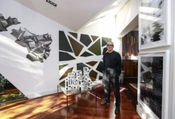 Architect Charles Justin at home. Photo: Eddie Jim