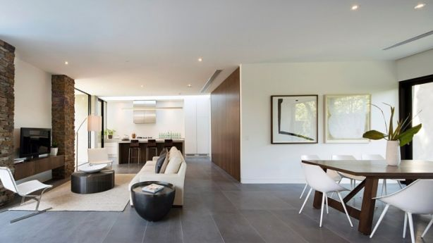 A Neutral White Was Used By The Real Estate Stylist To Provide Contemporary Look In