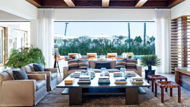 George Clooney is selling his Cabo, Mexico home, reportedly so he can spend more time in England and LA. Photo: Architectural Digest